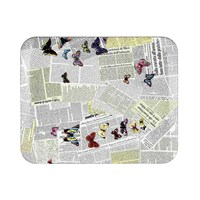 Fornasetti Ultime Notizie Tray 48X60cm