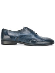 Silvano Sassetti Casual Derby Shoes Blue