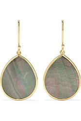 Ippolita Polished Rock Candy 18 Karat Gold Shell Earrings