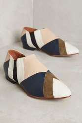 Anthropologie Luiza Perea Patchwork Ankle Booties Novelty