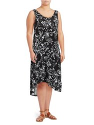 Marc New York Floral Tank Dress White Multicolor