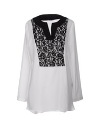 Noshua Shirts Blouses Women White