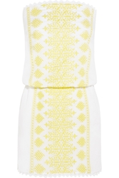 Melissa Odabash Amber Embroidered Muslin Dress