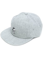 Vans Snoopy Embroidered Cap Grey