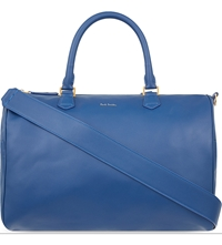 Paul Smith Leather Bowling Bag Royal Blue