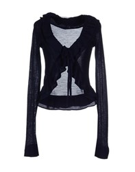 Appartamento 50 Knitwear Cardigans Women Dark Blue