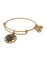 Alex And Ani Fleur De Lis Charm Bangle Gold
