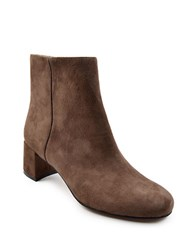 Adrienne Vittadini Louisa Suede Ankle Boots Grey