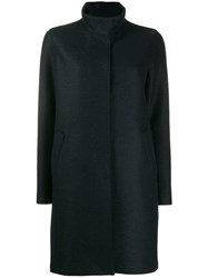 Harris Wharf London Button Up Coat Black