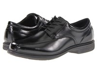 Nunn Bush Bartole St. Bicycle Toe Oxford Black Men's Lace Up Bicycle Toe Shoes