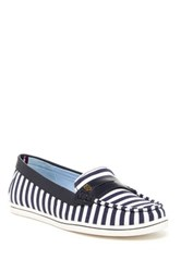 Tommy Hilfiger Butter Striped Penny Loafer Multi