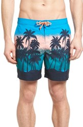 Original Penguin Men's Sunset Beach Board Shorts