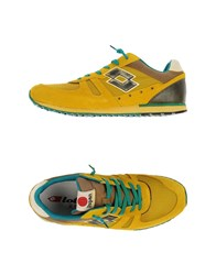 Lotto Leggenda Footwear Low Tops And Trainers Men Yellow