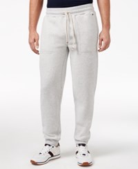 Tommy Hilfiger Men's Hancock Drawstring Sweatpants Light Grey Heather