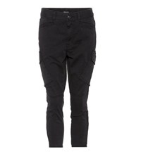 J Brand Margho Cropped Jeans Black