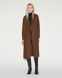 Harris Wharf London Boxy Duster Coat Biscuit