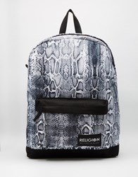 Religion Religon Snake Backpack Black