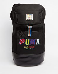 Puma X Dee And Ricky Backpack In Black 7386101 Black