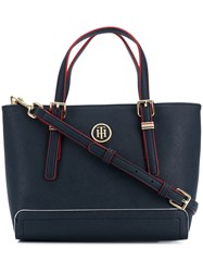 Tommy Hilfiger Small Tote Bag Blue