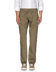 Sun 68 Trousers Casual Trousers Men Dark Green