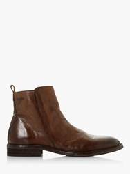 Bertie Cornfield Leather Ankle Boots Dark Brown
