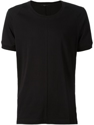 The Viridi Anne The Viridi Anne Seam Detail T Shirt Black