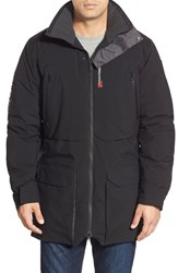 Men's Helly Hansen 'Shore' Waterproof Parka Black