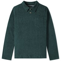 Howlin' Long Sleeve Soft Machine Polo Green
