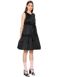 Rochas Ruffled Duchesse Dress