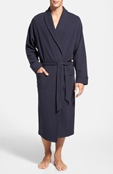 Nordstrom Men's Men's Shop Thermal Knit Robe Navy