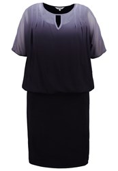 Studio 8 Etta Summer Dress Black Grey Ombre