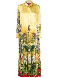 F.R.S For Restless Sleepers Tropical Print Shirt Dress 60