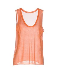 American Vintage Topwear Vests Women Orange