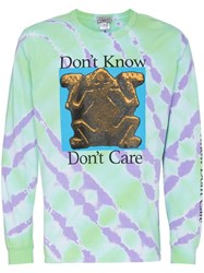 Ashley Williams Aw Don't Know Ls Tiedye Blue