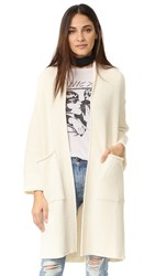 Free People By The Campfire Cardigan Ivory