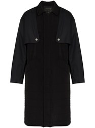 Mackintosh 0003 Quilted Removable Layer Trench Coat Black