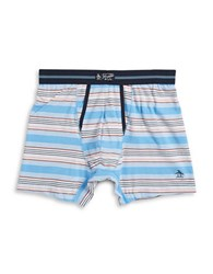 Original Penguin Striped Boxer Briefs Little Boy Blue