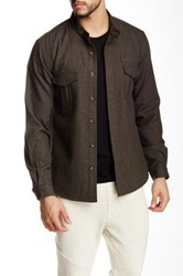 Shades Of Grey Military Overshirt Green