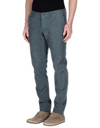 Maison Clochard Casual Pants Dark Green
