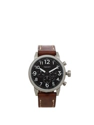 Tsovet Jpt Ts44 Leather Watch Brown