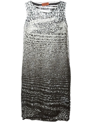 Missoni Lace And Sequin Dress Grey