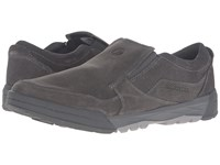 Merrell Berner Moc Castlerock Men's Slip On Shoes Gray
