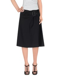 Aspesi Skirts Knee Length Skirts Women Black