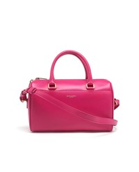 Saint Laurent Classic Duffle 6 Leather Bag Hot Pink Red