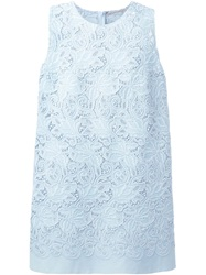 Ermanno Scervino Embroidered Lace Mini Dress