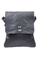 Men's Will Leather Goods 'Otto' Crossbody Bag Black