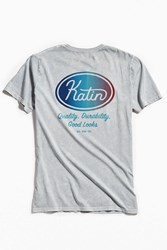 Katin Union Two Mineral Tee Charcoal