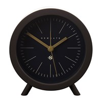 Newgate Fred Alarm Clock Chocolate Black Black Dial