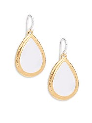 Gurhan Rock Crystal And Sterling Silver Dangle And Drop Earrings