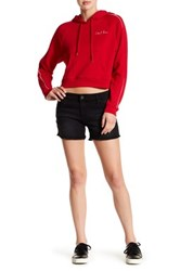 Kut From The Kloth Gidget Frayed Short Black